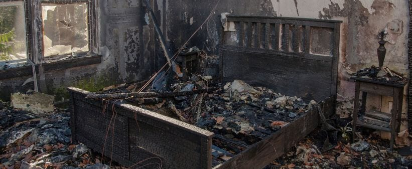 Fire Damage Restoration Process Repairing