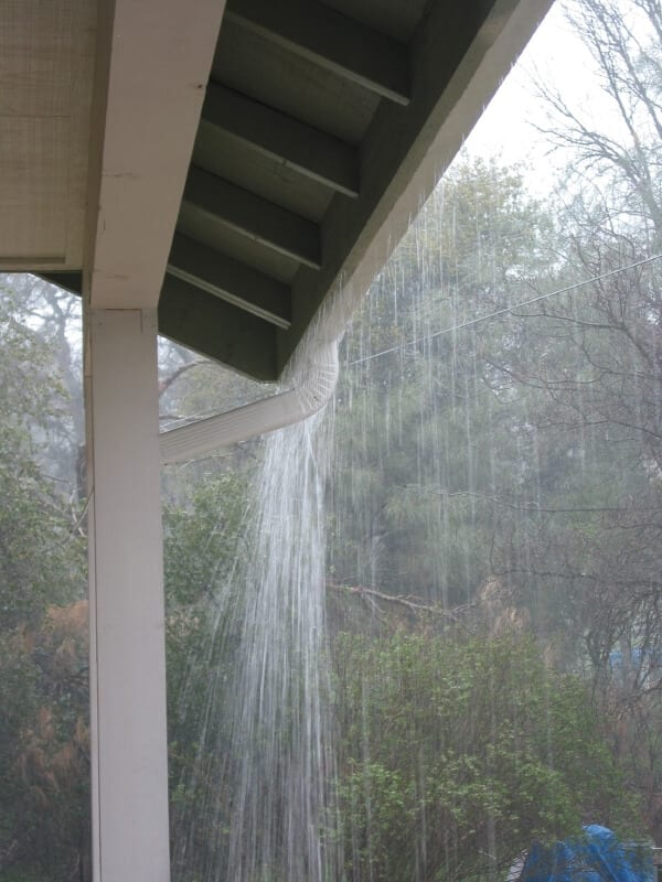 gutters causes of water damage